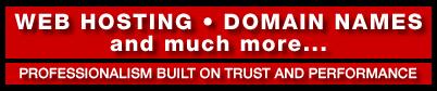Professional Web Hosting Company, Domain Names, SSL Certificates